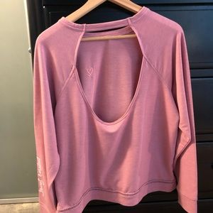 Victoria's Secret backless sweatshirt